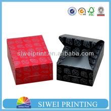 luxury printed Paper Jewelry Box with custom logo