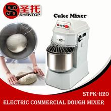 Shentop STPK-H20 cake mixer kneading bread used Electric dough mixer prices/used commercial dough mixer