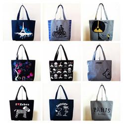 cheap fashion leisure zipperbag canvas shopping bag shopping bag R85