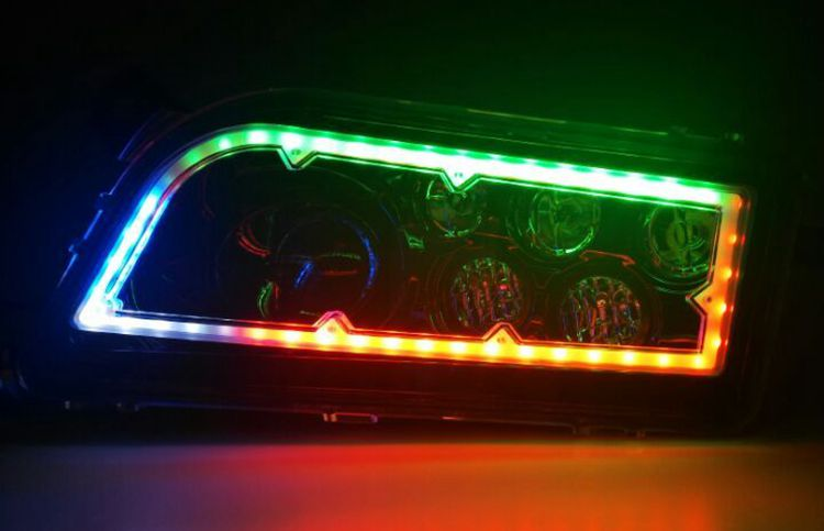 RGB ATV headlight 36