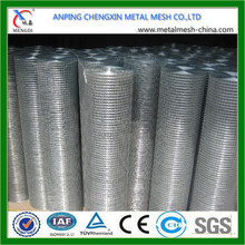 Wholesale Good Quality 1/2 inch Square Hole Welded Wire Mesh