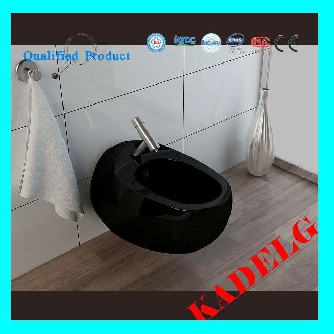 ラウンドホワイト高品質簡単ビデトイレ