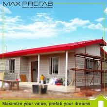 Multi- efeitos estrutura leve de aço modular pequena casa