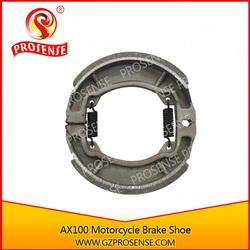 High Qaulity Motorcycle AX100 Brake Shoe