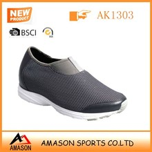 Amason brand casual shoes factory new design soft mesh light eva sole casual loafer
