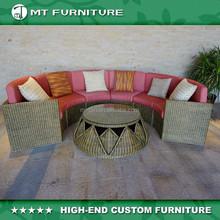 2015 new arrival natural rattan costco outdoor furniture sofa