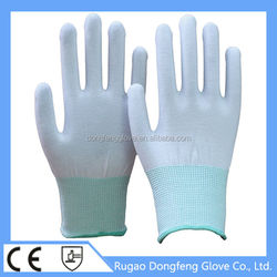 China Manufacture 100% Polyester Fabric Working Gloves