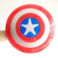 WH-048 Yiwu CaddyLED party supplies Children with lights glowing animated cartoon show a mask Captain America mask