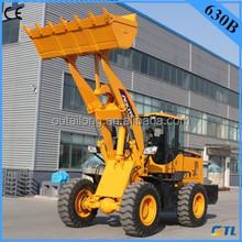 Mini garden tractors ,farming machine 3 ton wheel loader 630 with CE