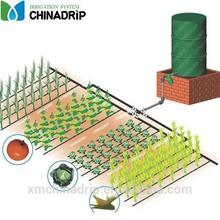 Garden or farm drip irrigation systems