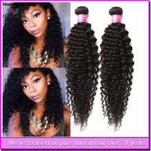 Alibaba China/Germany/Malaysia Raw Unprocessed human hair deep wave brazilian hair weft