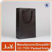 Printing recycled supply A4 size art paper bags for promotion
