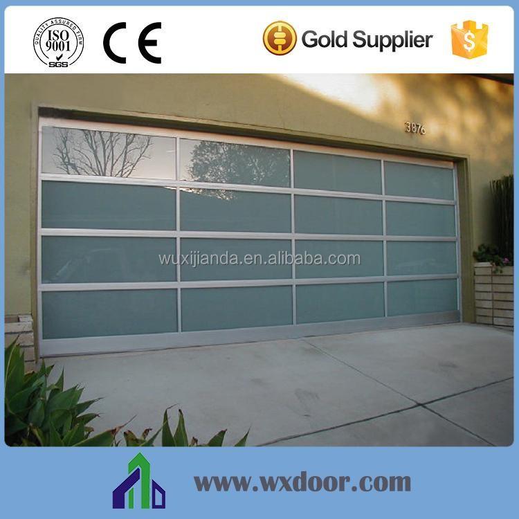 Size Overhead Sliding Glass Garage Door Buy Glass Garage Door