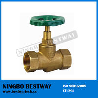 Steam Stop Valve Assembly Drawing 600 WOG CW614N Brass Stop Valve with Brass Color