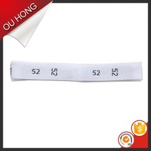 Decorative Garment Accessories Custom Cheap Fabric Woven Size Labels Clothing
