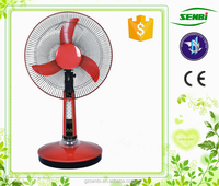 AC DC double use cooling fan two batteries 12v rechargeable fan products manufacturers