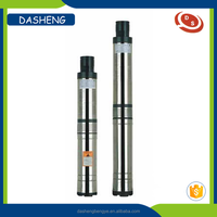 Deep well stainless steel electric centrifugal submersible water pump