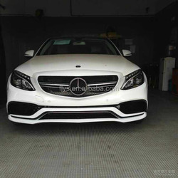 High Quality Best Selling New AM-G C63 W205 body kit for Mercede-s Ben-s plastic material PP material