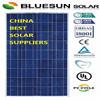 Bluesun good quality factory direct sale poly 150w sunrise pv solar panels