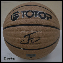 Branded soft touch Absorb sweat leather basketball