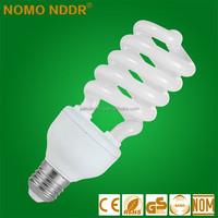 2015 China Yiwu Factory Price 40W Half Spiral Energy Saving Light Bulbs
