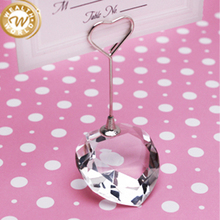 crystal table number stand for wedding