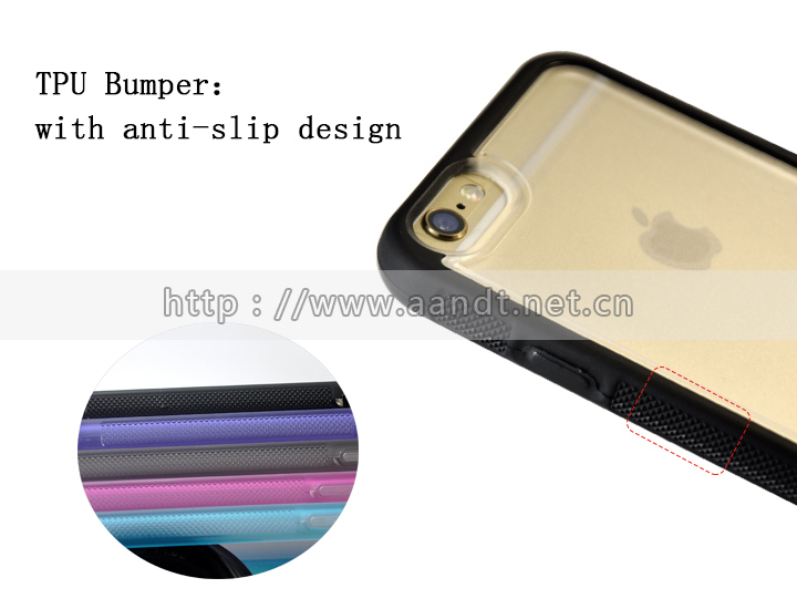 Hot selling blank TPU+PC mobile cover for iPhone case