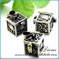 guangzhou proveedor joyería antigua caja medallón de venta al por mayor