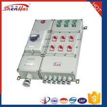 Customer design China Supplier Aliminium alloy shell Explosion proof control box
