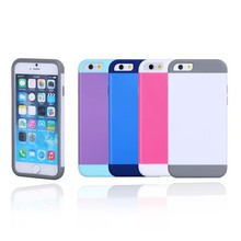 Soft silicone water proof and shock proof PC fashion design 4.7inch silicone phone cover