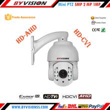 1080p TVI CVI AHD high speed Dome IP66 Zoom camera, 10x optical zoom ptz ip camera