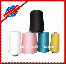 Selected 100% Polyester Staple Fibre Material and Raw White or Dyed Pattern sewing thread