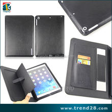 paypal accepted five colors wallet stand pu leather case for ipad mini2