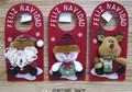 natal boneco de neve santa renas design maçaneta cabide melhor vender presentes de natal 2015