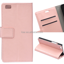 For Huawei Ascend P8 Lite Flip Leather Case