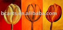 home decoration simple decotative flower group painting