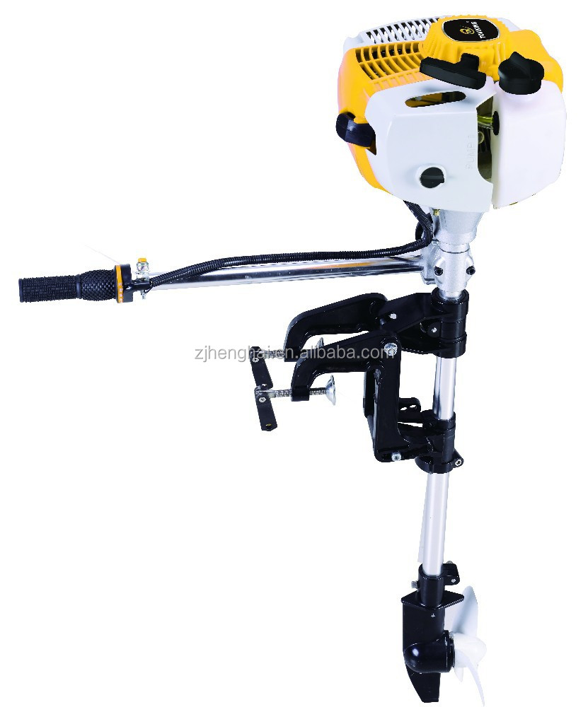 52cc China Outboard Motor With Aluminium Propeller
