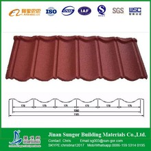New Design Antique Color Stone Coated Metal Roof Tile