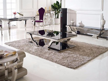 Wholesale Low Price Easy Installation Tempered Glass Coffee Table C145