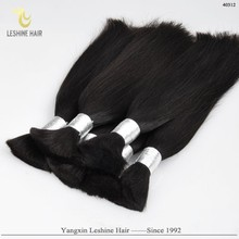 Alibaba Manufacturer Fast Delivery Full Cuticle No Chemical Treatment artificial bulk hair