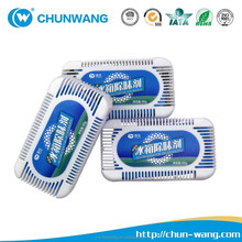 Household odor absorbing products for formaldehyde removing