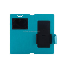 """2015 New Universal Leather Case for 4"""" 4.7"""", 5"""", 5.5"""" 6"""" Mobile Phone with Moveable Clip Universal Cell Phone Cover Case"""