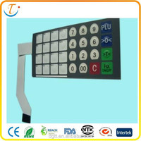 u2c mark 2015 Customized Top Quality membrane keyboard