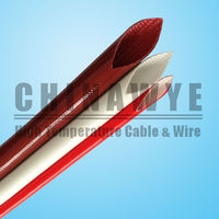 High Temperature Fiberglass Sleeving Coated With Silicone