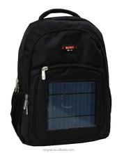 solar laptop backpack/solor backpack/18 inch laptop backpack