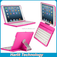 For iPad mini 4 Bluetooth Keyboard With 360 Degree Rotating Cover Case
