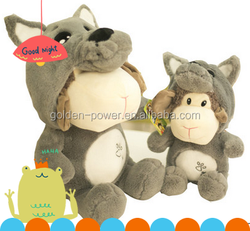 Popular New design top quality voice recording plush toys