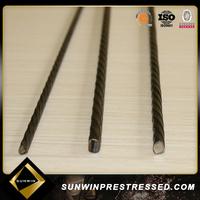 Sunwin prestressed Spiral Pc Wire For Bridge