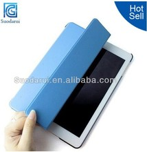 For iPad Mini 2 Book Stand Leather Sleeping Function PC Back Case Cover