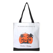 gold supplier custom folding shopping tote bag, standard size cotton bag, new attractive cotton tote bags with printing